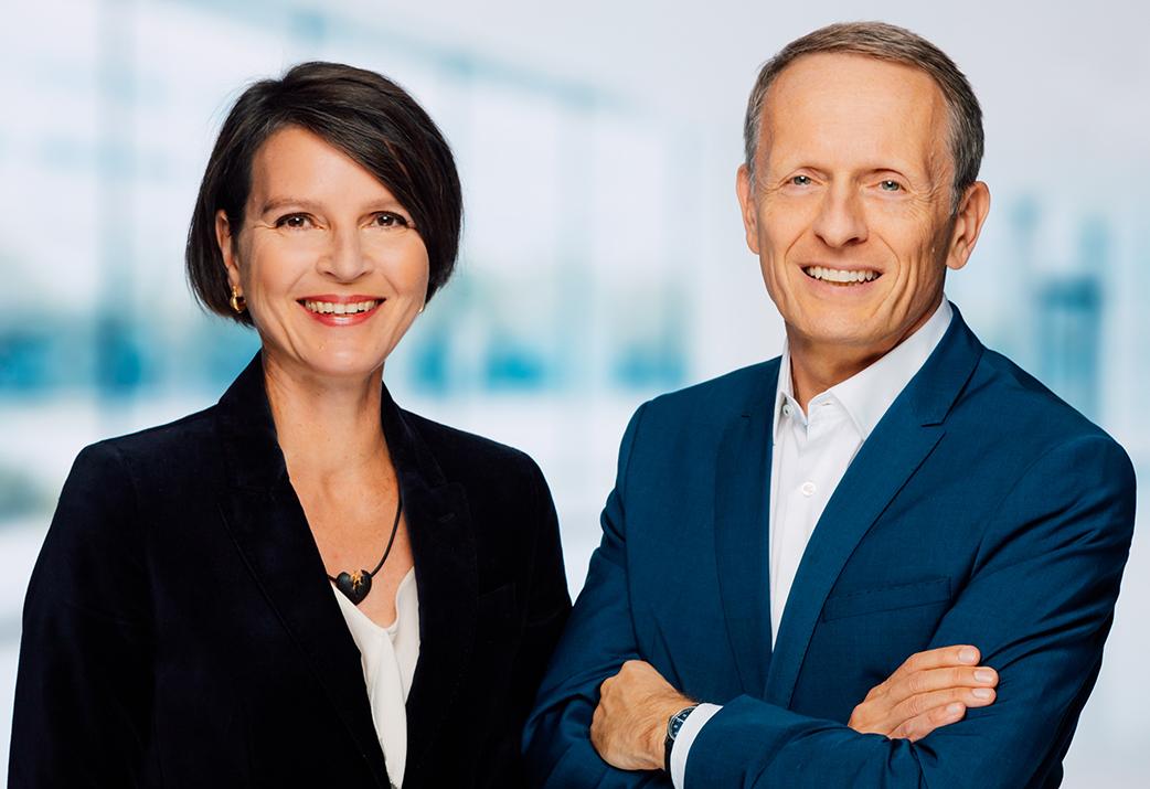 Stefanie Schäfer und Alexander Haas